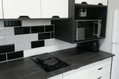 metro kitchen counter