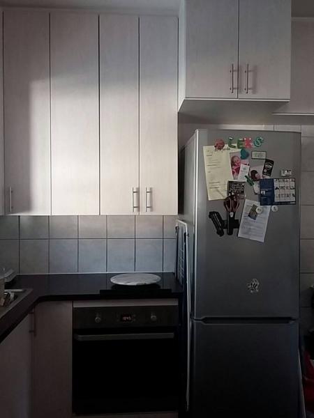 modern kitchen oven area