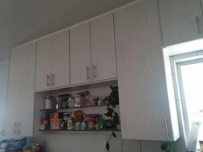 modern kitchen feature cupboards