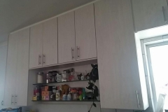 modern kitchen feature cupboards