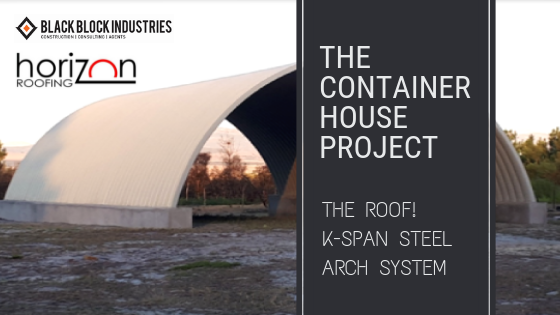 Kspan steel arch roof header