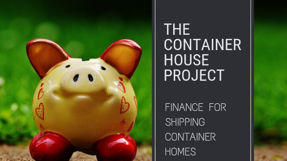 finance for shipping container homes